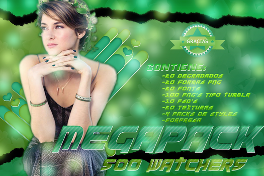 +MEGAPACK DE +500 WATCHERS by LupishaGreyDesigns