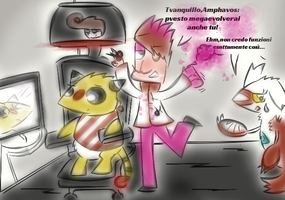 Pokeactuality 5 il  Megampharos KF by KingFlurry