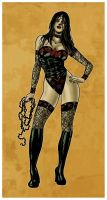 Dark Wonder Woman by The-Mirrorball-Man