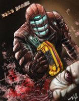 Isaac Clark - Dead Space by MelloMarrero