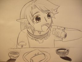 Link comes Viene to A MEXICO by girloveslink