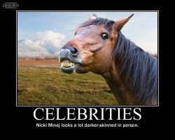 Celebrities -demotivation- by Dragunov-EX