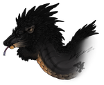 Feathery King by Night-Anders