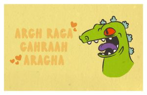 Reptar Valentine by saintbabe