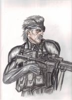 Snake 'What the Hell is That' by DarkCloudXERO