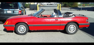 1986 Mustang Convertible - XVIII by Walking-Tall