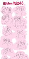 References - Hugs and Kisses by the-evil-legacy