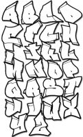 Graffiti Letters by littlelady561