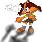 STOP FOLLOWING ME! by FireWitch25