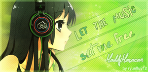 Let the music set me free by nicolenikka13