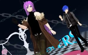 MMD link - Moves Like Jagger - Gakupo, Len, Kaito by Raven--Lee