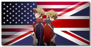 America and Enlgand Wallpaper by LilyKilpatrickART