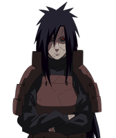 Edo Tensei : Madara Uchiha Render by Advance996