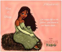 Princess Tiana by darkmane
