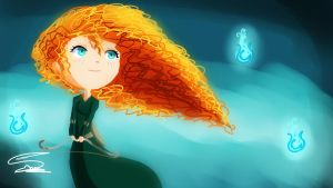 brave - merida by Lezzette