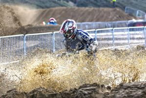 Quad Splash @ Weston Beach Race by Petrol-Head-Images