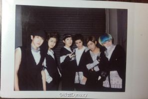 B.A.P No mercy COSPLAY BACK STAGE by YEYINGdynasty