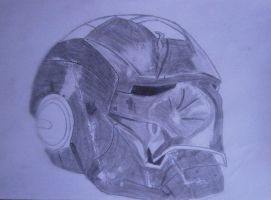 Iron Man Helmet by andrushka1