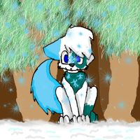 Art trade With NorthernHearts: SNOW! by StarshineTheCat1