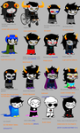 Homestuck according to my nephews :33 by nattomint
