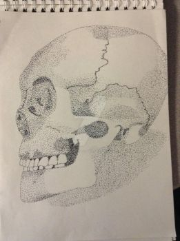 Pointillism Practice by Barakiels-Blessings