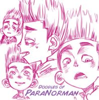 ParaNorman Doodling by JubyPhonic