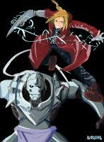 Those Elric Brothers by BombOPAUL