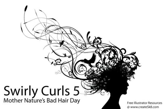 Swirly Curls 5 - Bad Hair Day by namespace