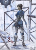 Perfect Dark - sketch by Daelyth