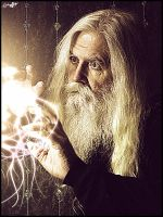 The wizard by borysgodunoff