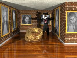 Pete at an Art Gallery by mcsoftware