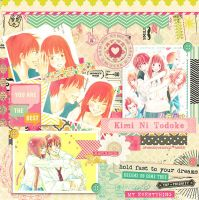 Kimi ni Todoke scrap by akumaLoveSongs