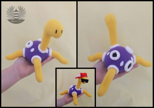 Mini Shuckle custom Plush by ArtesaniasIris