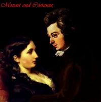 Mozart and Costanze by MOZARTMistressforeva