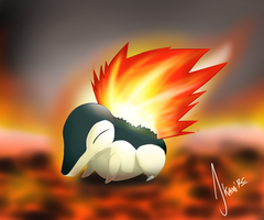 Cyndaquil by JerryRC