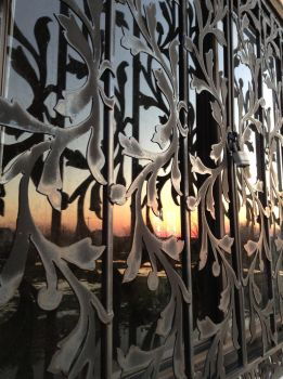 Soft Sun's Set in Caged Glass by Lord-LunaEquie-is-me