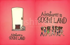 Adventures in SoShi Land Book by soshified