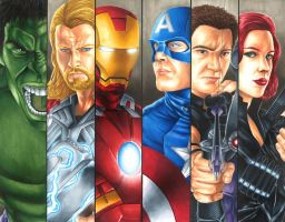 Avengers Assembled by smlshin
