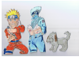 Naruto decoupage by ConkerTSquirrel