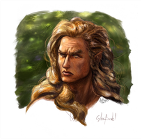 Glorfindel, Coloured version by Artigas
