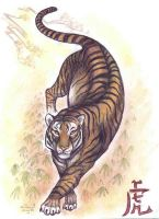 Shaolin- Tiger by who-stole-MY-name