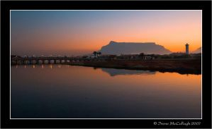 MIlnerton Lagoon at Sunset by substar
