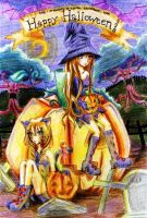 Happy Halloween 2010 by monkey-d-cyntia