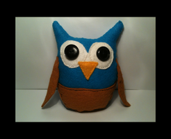 Little owl plush by WhispMI21