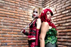 Harley and Ivy ~ by LeanAndJess
