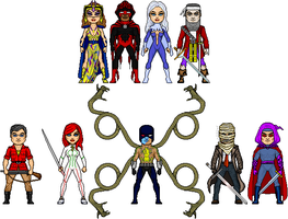 Other New Amalgam Heroes 3: Magic by Red-Rum-18