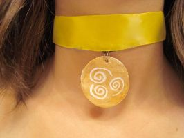 Katara's Necklace:Air Version by pah-her-pul