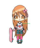Closed Skater Girl [Points/Paypal] by Aiko-Adopts