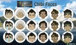 Korra - Chibi Faces by BellaTytus