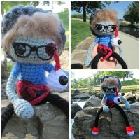 Hipster Zombie by oywiththeplushies